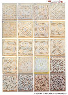 Granny Squares-pics and diagrams