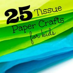 Fold & Fun! 25 Tissue Paper Crafts for Kids