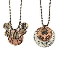 Another great find on #zulily! Me & You Forever DIY Necklaces Kit #zulilyfinds