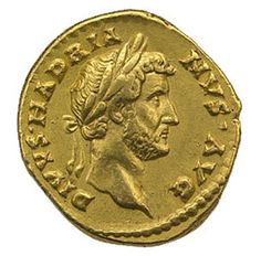 "Ancient Rome. gold coin. ""Render to Caesar the things that are Caesar's and to God the things that are God's."" Jesus, Mark 12:17"