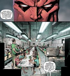"""""""There are a lot of things a person can do to guarantee a bullet from me…but enslaving a bunch of kids? That's a good way to make sure you get a full clip."""" - Jason Todd in Batman Eternal #18"""