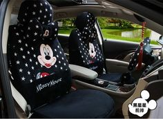 NEW Mickey Mouse Stars Plush Car Seat Covers Cushion Accessories Set If there are armrests in the front seat ,you have to take out seams for the front seat side to the waist line about centimeters and sew on. Disney Home, Disney Cars, Disney Stuff, Mickey Mouse Bathroom, Mickey Mouse Car, Disney Tote Bags, Car Goals, New Backgrounds, Seat Covers