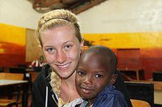 Volunteer Kenya Olivia Kochuk with Abroaderview.org https://www.abroaderview.org #volunteerabroad #kenya #orphanage #abroaderview