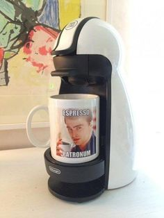 """And this amazing coffee cup. 