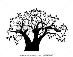 The baobab tree silhouette on white background African Tree, Baobab Tree, Tree Clipart, Blog Design Inspiration, Tree Silhouette, Free Machine Embroidery Designs, African Animals, Free Vector Art, Royalty Free Images