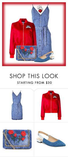 """""""Untitled #1749"""" by ebramos ❤ liked on Polyvore featuring J Brand, Carven, Boohoo and Nanette Lepore"""