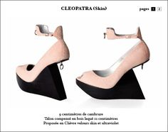 Cleopatra by Larare! wedges shoes
