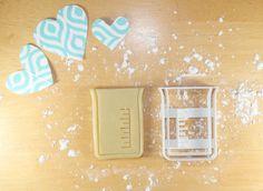 Science Beaker 3D Printed Cookie Cutter by PrintandFlourish