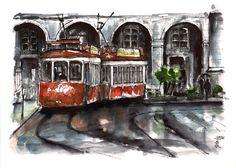 Lisboa, tranvía.
