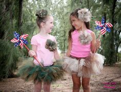 If I had a little girl I would freak over these tutus! so cute