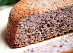 Chleb gryczany z siemieniem lnianym - przepis ze Smaker.pl Banana Bread, Food And Drink, Desserts, Recipes, Diet, Deserts, Food Recipes, Rezepte, Dessert