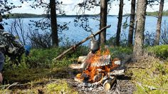Coffee break by the campfire, Kuhmo, Finland Eve Vesterlund / yle.fi
