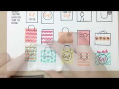 Waffle Flower DEMO - Little Gifts Stamp Set - YouTube