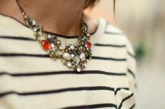 Preppy style & jewelry - Decorative Necklace