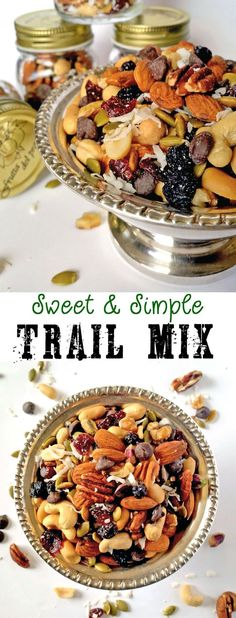 Sweet and Simple Trail Mix
