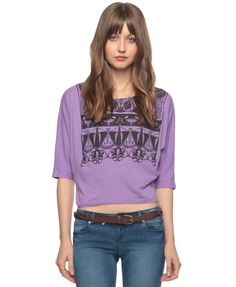 Art Nouveau Graphic Top  Was:$16.90  Now:$11.99  April 1st 2012