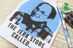 George Costanza Note Card- The Jerk Store Called- Frenemy Card, Funny Note Cards, Every Day Cards, BFF Cards, Seinfeld Inspired, TV Quotes by Papyrusaurus on Etsy