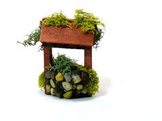 Wishing Well Miniature for Fairy Garden by adorablyimperfect