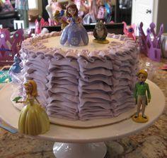 Sofia the First Birthday Cake.  Cake by The Sugar House.