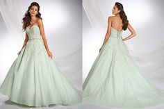 disney bridal dresses 2015 | The 2015 Alfred Angelo Disney Fairy Tale Wedding Gowns - Tiana