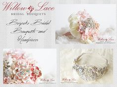 Willow and Lace was founded in 2012 by Gaynor Jones – a designer with passion and flair for the handmade. Gaynor's core range remains her signature bouquets – a keepsake that we recommend the bride doesn't throw for the bridesmaids to catch. Willow and Lace bouquets are available in a wide choice  of shapes, each unique, individually created around either a silk or organza stem. http://www.algarveweddingdirectory.info/section698713.html