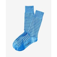 Express Micro Dot Print Dress Sock ($11) ❤ liked on Polyvore featuring men's fashion, men's clothing, men's socks, blue, mens polka dot dress socks, mens polka dot socks, mens blue dress socks, mens blue socks and men's patterned dress socks