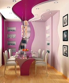 More of these stretched ceilings http://www.laqfoil.com/