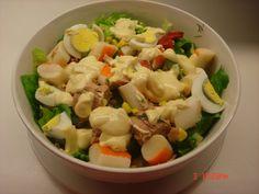 Μαγειρική με πάθος : ΚΑΒΟΥΡΟΣΑΛΑΤΑ ΜΕ ΤΟΝΟ ΣΠΕΣΙΑΛ Potato Salad, Salad Recipes, Salads, Potatoes, Ethnic Recipes, Drink, Food, Beverage, Eten