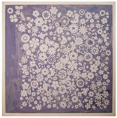 Lovely print, don't normally like flowery things or purple for that matter, but this is quite pretty.