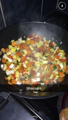 Wok de légumes au Tofu sauce soja