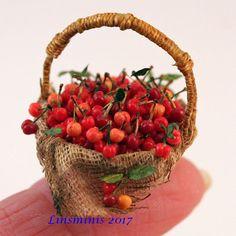 Cherry basket.