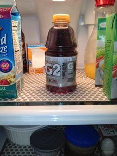 Fridge Coasters keep my fridge clean