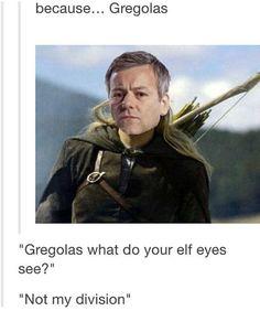 Because Gregolas....                                                                                                                                                                                 More