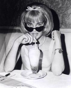 #Sue #Lyon #Lolita #movies #actress #blackandwhite