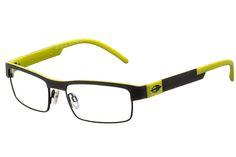 Oculos De Grau Masculino Mormaii 1675 804 e curvado e exigem suas lentes personalizadas. Oculos De Grau Mormaii sao esportivos, modernos e confortaveis