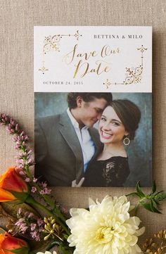 41 Photo Wedding Invitations Online You Would Like to Consider! Wedding Invitations With Pictures, Wedding Invitations Online, Save The Date Invitations, Wedding Stationary, Wedding Invitation Cards, Wedding Cards, Invitation Envelopes, Invites, Party Invitations