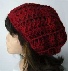 Slouchy Red Beanie