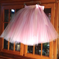 New Flower Girl tulle skirt tutu pink over by TutusChicBoutique, $90.00