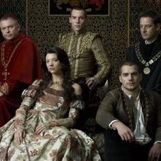 The Tudors on Showtime. This is probably my favorite of the gowns we see Natalie Dormer wear as Anne Bolyn.