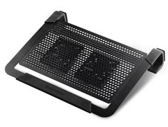 Cooler Master NotePal PLUS - Laptop Cooling Pad with 2 Movable High Performance Fans (Black, Frustration-Free Packaging) Cooler Master, Laptop Cooling Stand, Laptop Stand, Laptop Cooler, Mac Book, Laptop Carrying Case, Touch Screen Laptop, Technology Gifts, 17 Inch Laptop