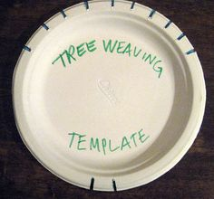 template for teaching tree weaving, IN THE ART ROOM: TREE WEAVING WITH THIRD GRADE