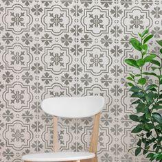 MARBELLA Tile Stencil Mediterranean by DizzyDuckDesignsUK on Etsy