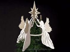 SLD329 - Heavenly Angel Tree Topper