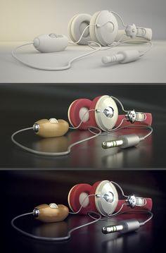Making Of - Prototipo audiculares #ironman Ironman, Headphones, 3d, Electronics, Headset, Headpieces