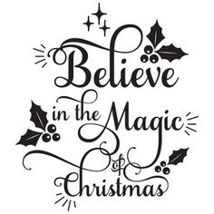 Silhouette Design Store: Believe In The Magic Of Christmas
