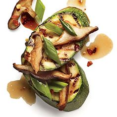 Shiitake and Ponzu Zucchini | CookingLight.com #myplate #veggies