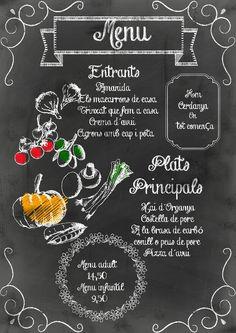 Chalk menu