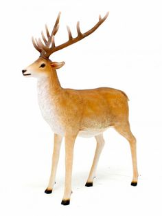 Standing Reindeer Prop | Christmas - Santa's Grotto Theme | Event Prop Hire