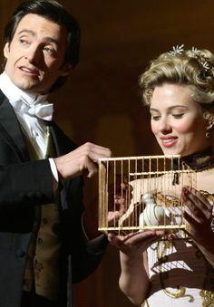Robert Angier and Olivia Wenscombe -  Hugh Jackman and Scarlett Johannson  - The Prestige 2006