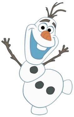 Frozen: Imágenes de Olaf o Clip Art.